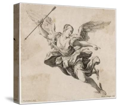 Angel with Arrow--Stretched Canvas Print