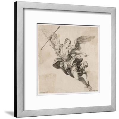 Angel with Arrow--Framed Giclee Print