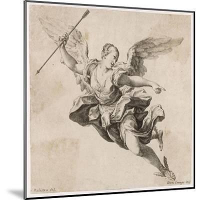 Angel with Arrow--Mounted Giclee Print