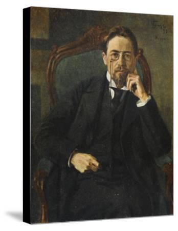 Anton Chekhov--Stretched Canvas Print
