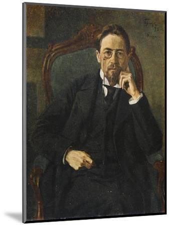 Anton Chekhov--Mounted Giclee Print