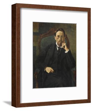 Anton Chekhov--Framed Giclee Print