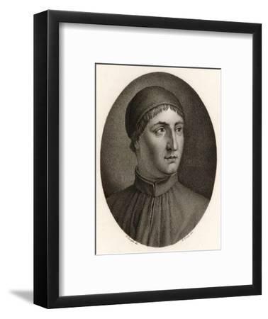 Angelo Poliziano Italian Scholar and Writer--Framed Giclee Print