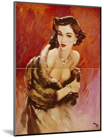 August, 1953-David Wright-Mounted Giclee Print