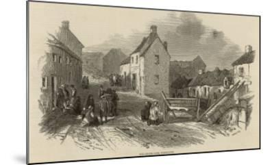 Death and Disease in Skibbereen, Ireland--Mounted Giclee Print