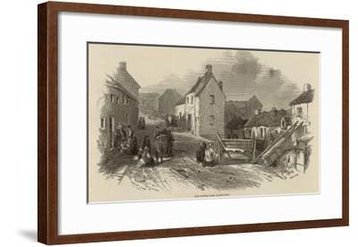 Death and Disease in Skibbereen, Ireland--Framed Giclee Print