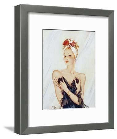 Daffy-David Wright-Framed Giclee Print