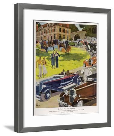 Concours D'Elegance--Framed Giclee Print