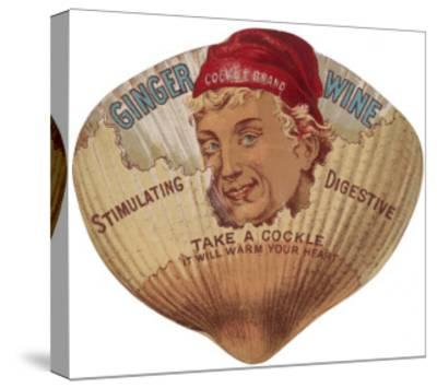 Cockle's Ginger Wine - Stimulating, Digestive--Stretched Canvas Print
