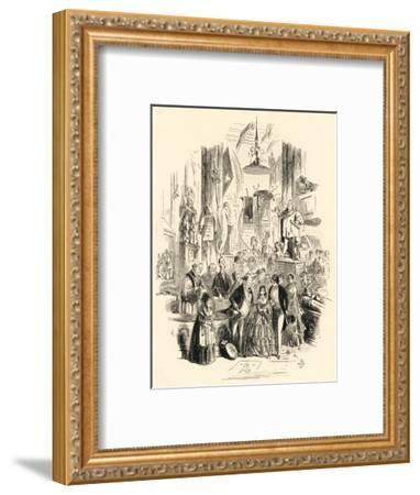 David Copperfield Is Married--Framed Giclee Print
