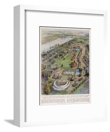 Festival Pleasure Garden--Framed Giclee Print