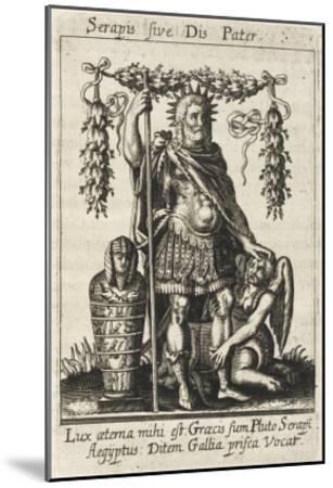 Dis Pater--Mounted Giclee Print