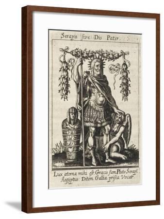 Dis Pater--Framed Giclee Print