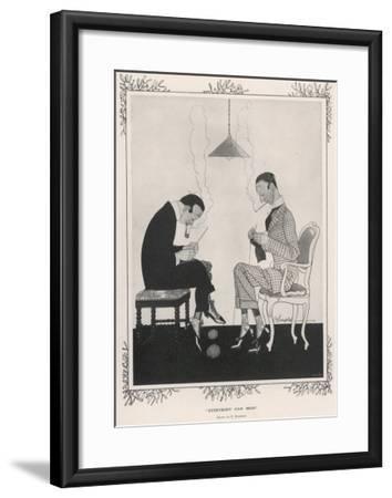 Everybody Can Help--Framed Giclee Print