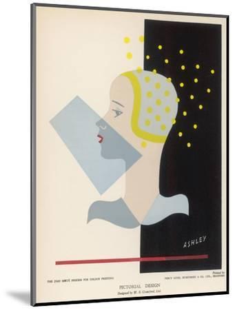 Female Type 1931--Mounted Giclee Print