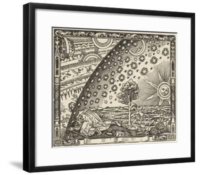 Earth's Junction with the Heavens--Framed Giclee Print
