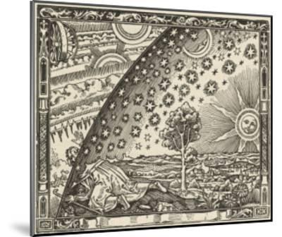 Earth's Junction with the Heavens--Mounted Giclee Print