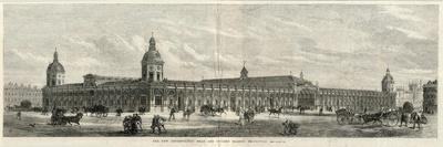 Exterior of the Smithfield New Metropolitan Meat and Poultry Market, London--Stretched Canvas Print