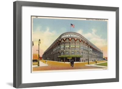 Ebbets Field, Brooklyn, New York, Home of the Brooklyn Dodgers in the 1930s--Framed Giclee Print