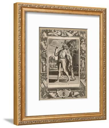 Floris IV, Count of Holland in Armour for a Tournament--Framed Giclee Print