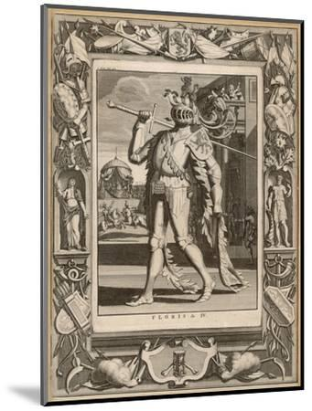 Floris IV, Count of Holland in Armour for a Tournament--Mounted Giclee Print