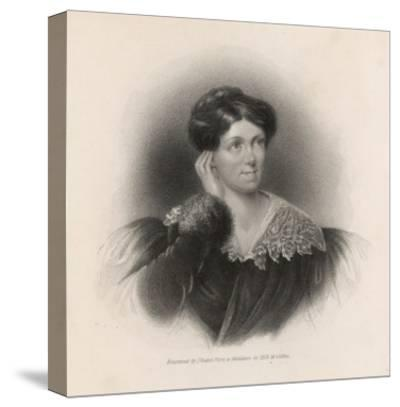 Harriet Martineau Writer and Social Commentator--Stretched Canvas Print