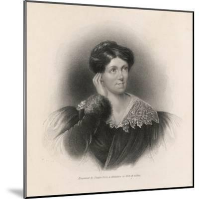 Harriet Martineau Writer and Social Commentator--Mounted Giclee Print