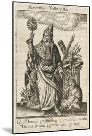Hermes / Mercury--Mounted Giclee Print