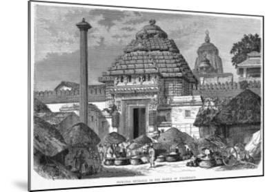 India Puri Jaganath--Mounted Giclee Print