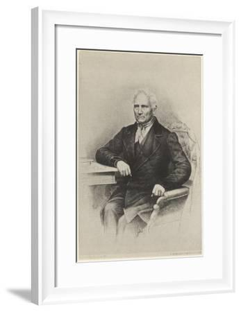 Jan Evangelista Purkyne (Or Purkinje) - Bohemian Physiologist from Prague, Friend of Goethe--Framed Giclee Print