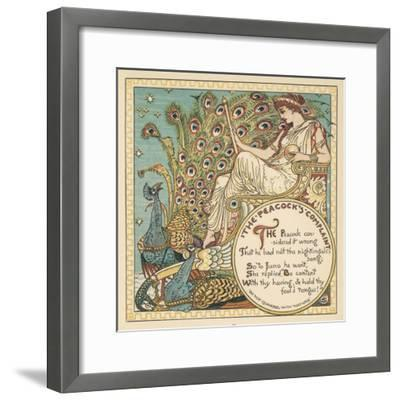 Juno and the Peacock--Framed Giclee Print