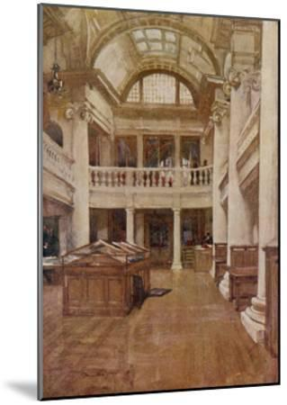 Interior View of the Hornby Library, Liverpool--Mounted Giclee Print