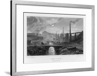 Ironworks at Nant-Y-Glo, South Wales--Framed Giclee Print