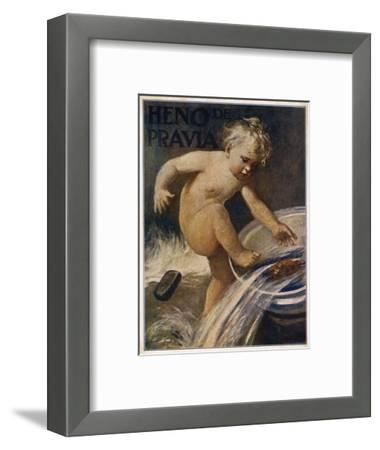 Heno De Pravia Soap--Framed Giclee Print