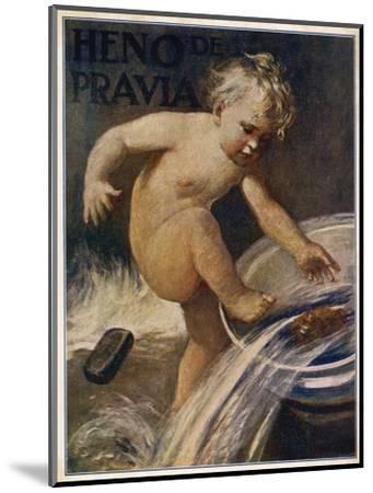 Heno De Pravia Soap--Mounted Giclee Print