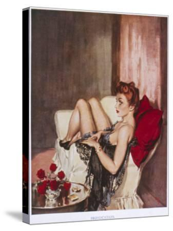 Provocation-David Wright-Stretched Canvas Print