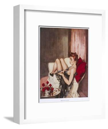 Provocation-David Wright-Framed Giclee Print