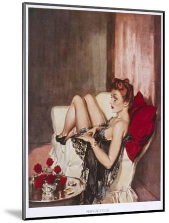 Provocation-David Wright-Mounted Giclee Print