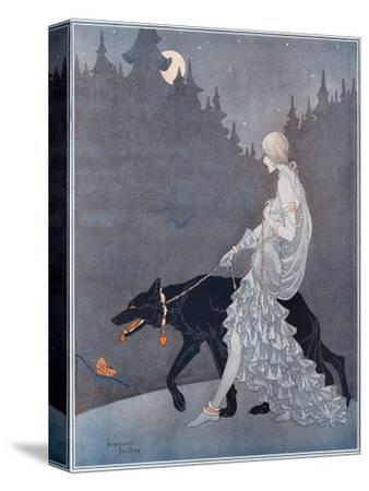 Queen of the Night by Marjorie Miller--Stretched Canvas Print