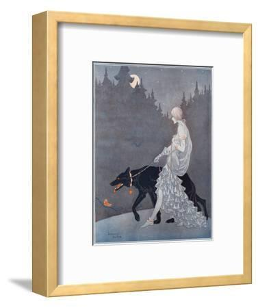 Queen of the Night by Marjorie Miller--Framed Giclee Print