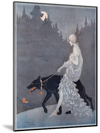 Queen of the Night by Marjorie Miller--Mounted Giclee Print