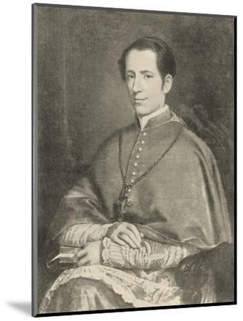 Pope Leo XIII--Mounted Giclee Print