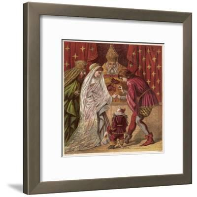 Puss in Boots--Framed Giclee Print