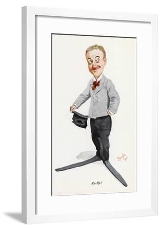 Little Tich (Harry Relph) Music Hall Entertainer--Framed Giclee Print