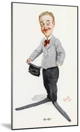 Little Tich (Harry Relph) Music Hall Entertainer--Mounted Giclee Print