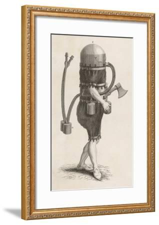 Klingert's Diving Suit and And Breathing Apparatus--Framed Giclee Print