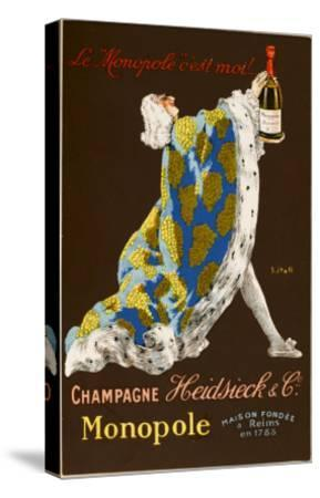 Monopole Champagne, Made by Heidsieck and Co--Stretched Canvas Print