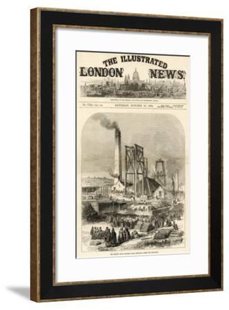 Morley Main Colliery, Near Dewsbury--Framed Giclee Print
