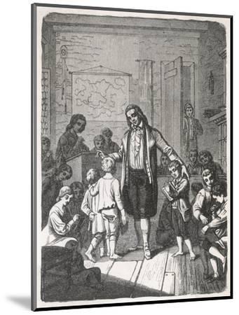 Pestalozzi's School--Mounted Giclee Print