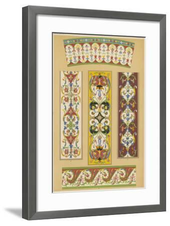 A Series of Arabesques--Framed Giclee Print